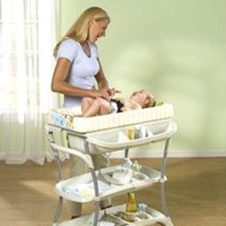 Over Bath Changing Table